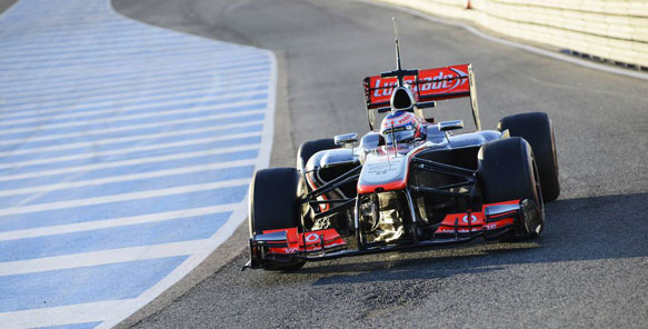Jenson Button 2013 F1