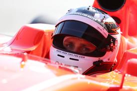 Max Chilton, Marussia, F1 testing, Jerez