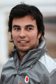 Sergio Perez McLaren F1 2013