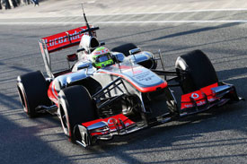 Sergio Perez McLaren F1 2013