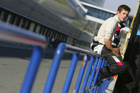 James Rossiter, F1 testing