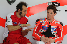 Vito Guareschi and Nicky Hayden