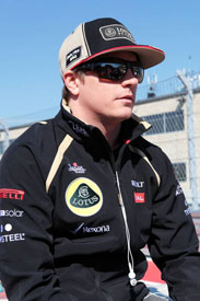 Kimi Raikkonen Lotus F1 2013