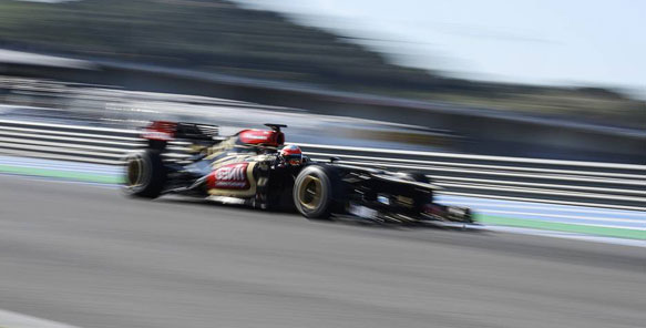 Romain Grosjean F1 2013 Lotus