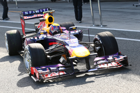 Mark Webber, Red Bull, Jerez F1 testing February 2013