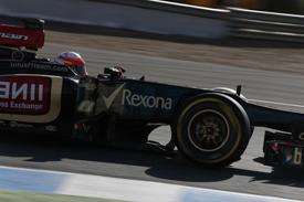 Romain Grosjean, Jerez F1 testing