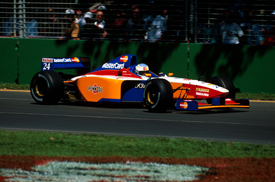 Vincenzo Sospiri, Australian GP 1997