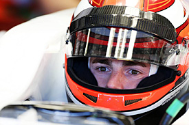 James Rossiter, F1 testing 2013