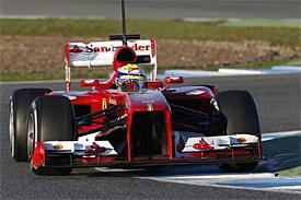 Felipe Massa Ferrari F1 2013 Jerez