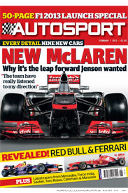 AUTOSPORT February 7 Cover