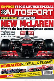 AUTOSPORT February 7 Cover