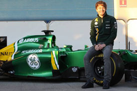Charles Pic Caterham F1 2013