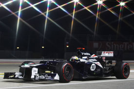 Pastor Maldonado Williams F1 2012