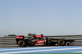 Kimi Raikkonen, Lotus, Jerez F1 testing, February 2013