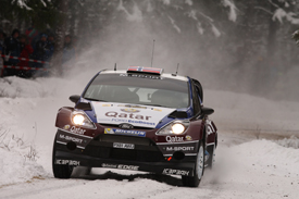 Mads Ostberg, M-Sport Ford, Sweden 2013