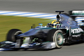 Lewis Hamilton, Mercedes