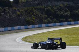 Valtteri Bottas Williams F1 2013