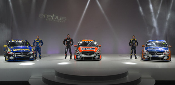 Erebus racing launch V8 Supercars 2013