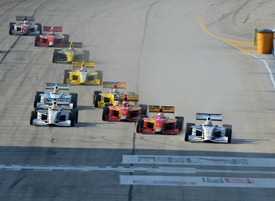 Milwaukee Indy Lights start 2012