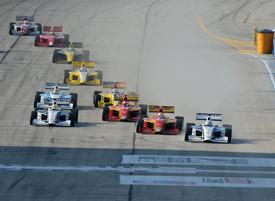 Milwaukee Indy Lights start 2012