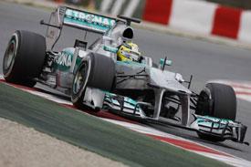 Nico Rosberg F1 2013 Testing