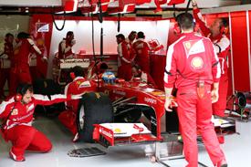 Fernando Alonso, Ferrari, Barcelona F1 testing 2013