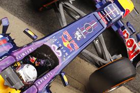 Sebastian Vettel, Red Bull, Barcelona F1 testing, February 2013