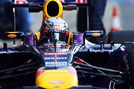 Sebastian Vettel F1 2013 Testing