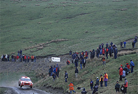 Fans follow Rally GB