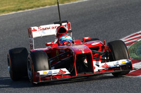Fernando Alonso Ferrari F1 2013