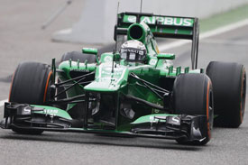 Giedo van der Garde Caterham F1 2013