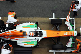 Adrian Sutil Force India F1 2013