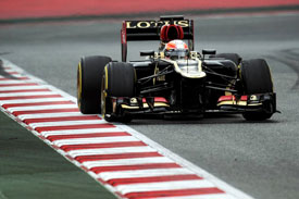Romain Grosjean Lotus F1 2013