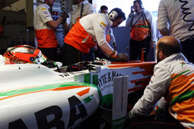 Jules Bianchi Force India F1 2013