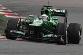 Giedo van der Garde Caterham F1 2013