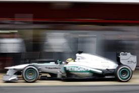 Lewis Hamilton F1 2013 Mercedes