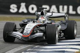 Juan Pablo Montoya McLaren 2005 Brazil