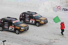Kimi Raikkonen  ice race