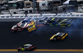 Daytona 500 crash