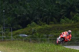 Andrea Dovizioso, Ducati, Sepang MotoGP testing, February 2013