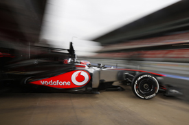 Jenson Button, McLaren, Barcelona F1 testing, February 2013