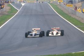 Mansell Senna