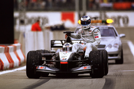 Mika Hakkinen David Coulthard 2001