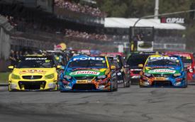 Adelaide V8 Supercars start 2013