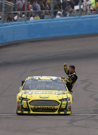 Carl Edwards wins at Phoenix
