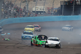 David Ragan and Danica Patrick crash, Phoenix NASCAR 2013