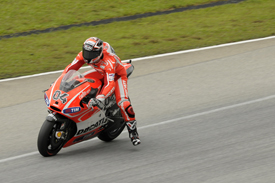 Andrea Dovizioso, Ducati, Sepang MotoGP testing, February 2013