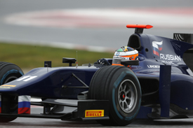 Luciano Bacheta GP2 test Russian Time