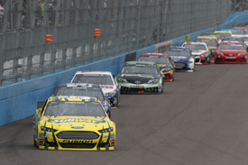 Carl Edwards leads at Phoenix, NASCAR February 2013
