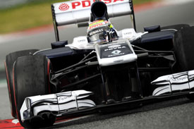 Pastor Maldonado Williams F1 2013